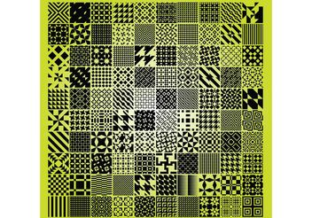Geometric Patterns Pack - Free vector #144361
