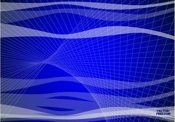Blue Lines - vector #144621 gratis