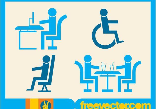 People Symbols - Free vector #144751