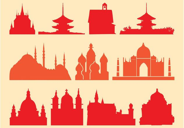 Religious Buildings - Free vector #144881