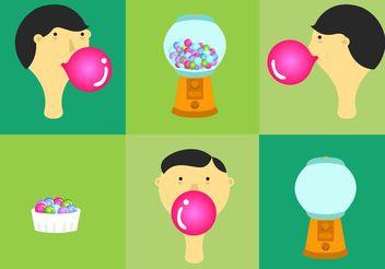 Bubblegum Vectors - vector #144931 gratis