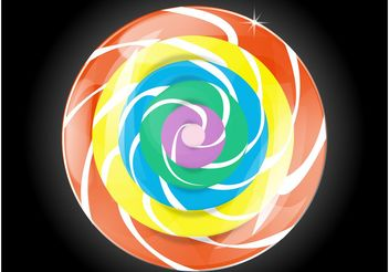 Candy Icon - vector #145011 gratis