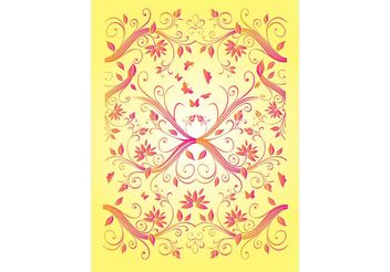 Free Summer Flowers Vectors - Kostenloses vector #146261