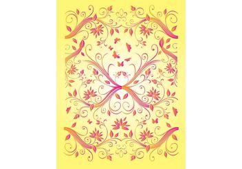 Free Summer Flowers Vectors - Free vector #146261