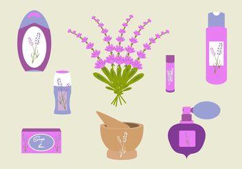 Lavender flower - vector gratuit #146561