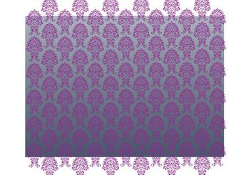 Luxury Wallpaper Pattern - vector gratuit #146721