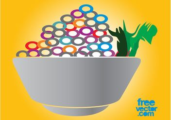 Food Bowl - vector #147051 gratis
