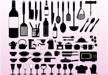 Cooking Designs - Kostenloses vector #147101