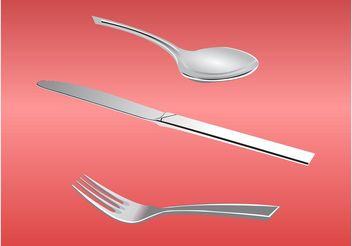 Cutlery - Kostenloses vector #147191