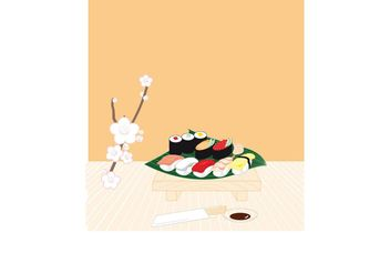 Sushi - Free vector #147291