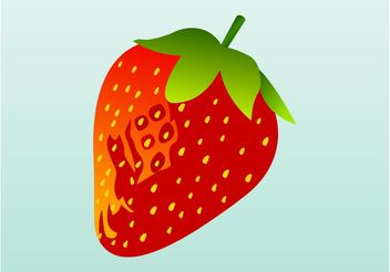 Strawberry Icon - vector gratuit #147541