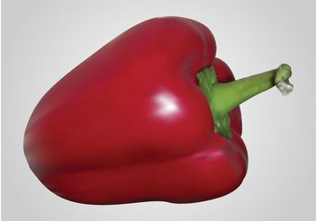 Red Pepper - vector gratuit #147551