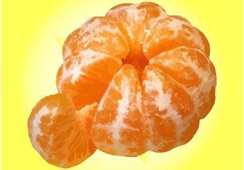 Tangerine - vector gratuit #147861