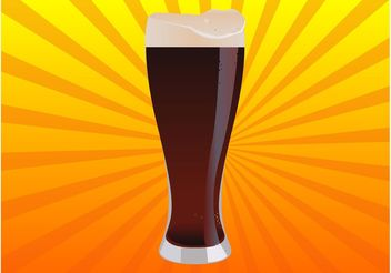 Cold Beer Vector - Free vector #148021