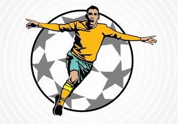 Soccer Victory - Free vector #148111