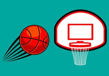 Free Basketball Vector - бесплатный vector #148221