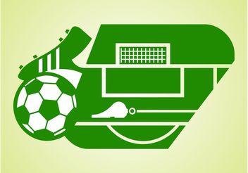 Vector Soccer Field - Free vector #148251