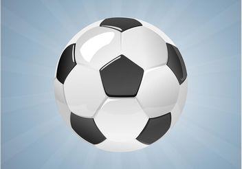 Soccer Ball Vector - Free vector #148301