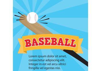 Baseball Vector - бесплатный vector #148311