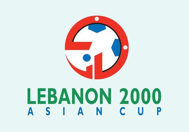 Asian Cup Lebanon - vector gratuit #148491
