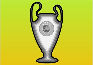 UEFA Cup - vector gratuit #148551