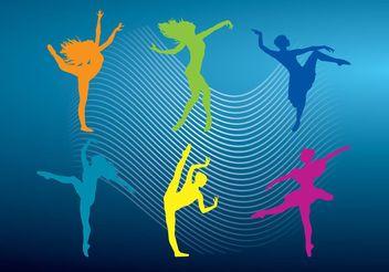 Ballet Vectors - Free vector #148681