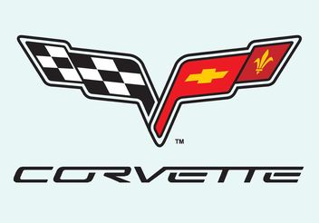 Corvette C6 - vector #148921 gratis