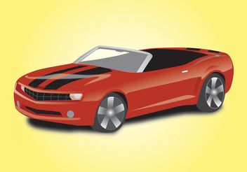 Sports Car Convertible - Free vector #148931
