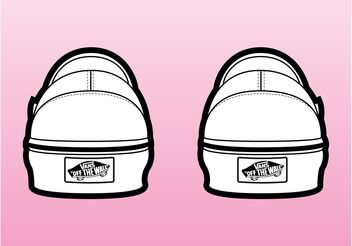 Vans Shoes - Free vector #149051