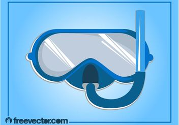 Swimming Goggles Vector - vector #149091 gratis