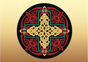 Antique Russian Cross - Free vector #149481