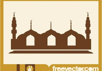 Mosque Vector Graphics - Free vector #149531