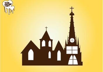 Church Vector Graphics - vector gratuit #149541