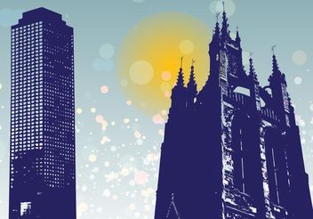 Tower Graphics - vector #149601 gratis