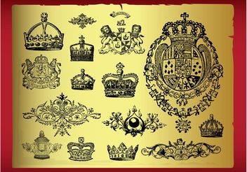 Royal Designs - Free vector #149801