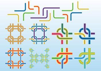 Line Vectors - Free vector #150021