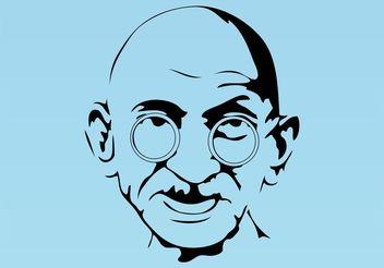 Gandhi Vector - Free vector #150041