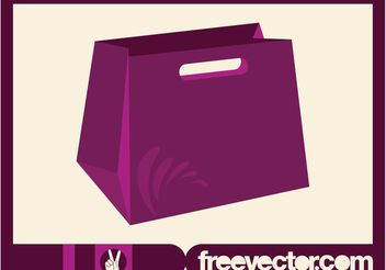 Vector Shopping Bag - Free vector #150291