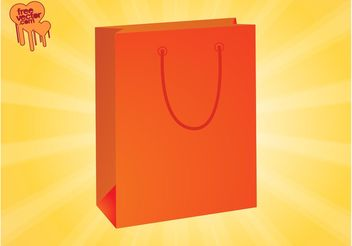 Vector Paper Bag - Free vector #150351