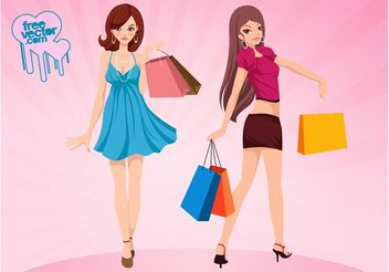 Shopping Vector - vector gratuit #150401