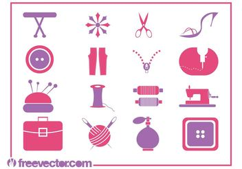 Fashion Symbols - vector #150571 gratis