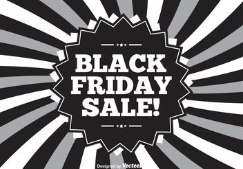 Black Friday Illustration - Free vector #150621
