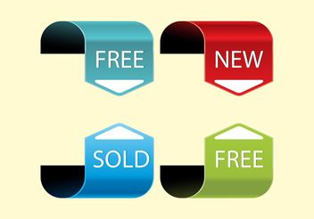 Promotion Arrows - Free vector #150861