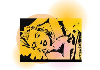 Marilyn Vector - Free vector #151271