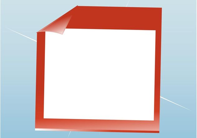 Paper Frame - Free vector #151571