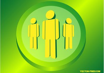 People Graphics - vector gratuit #151631