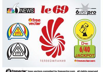 6 Logos - Free vector #151691