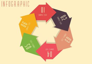 Free Vector Circle Business Concept - бесплатный vector #151751