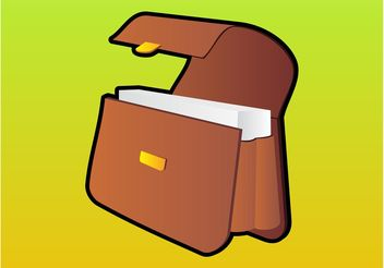 Briefcase - vector gratuit #151851