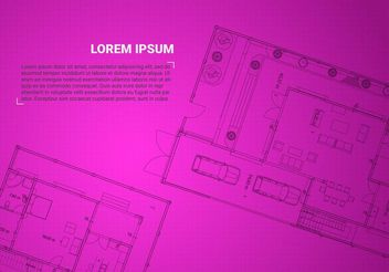Free Architectural Background Vector - Free vector #151961